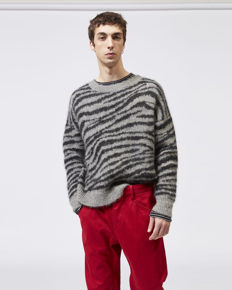 RANDAL zebra sweater ISABEL MARANT