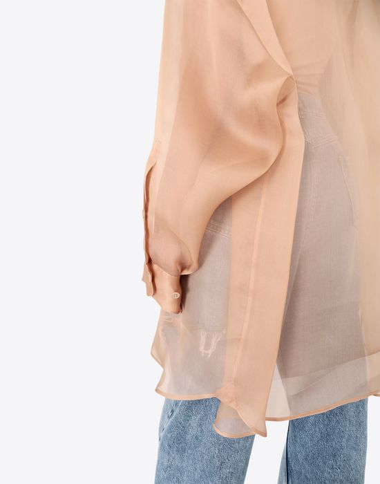 MAISON MARGIELA Organza shirt Long sleeve shirt [*** pickupInStoreShipping_info ***] b