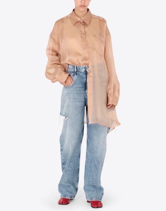 MAISON MARGIELA Organza shirt Long sleeve shirt [*** pickupInStoreShipping_info ***] d