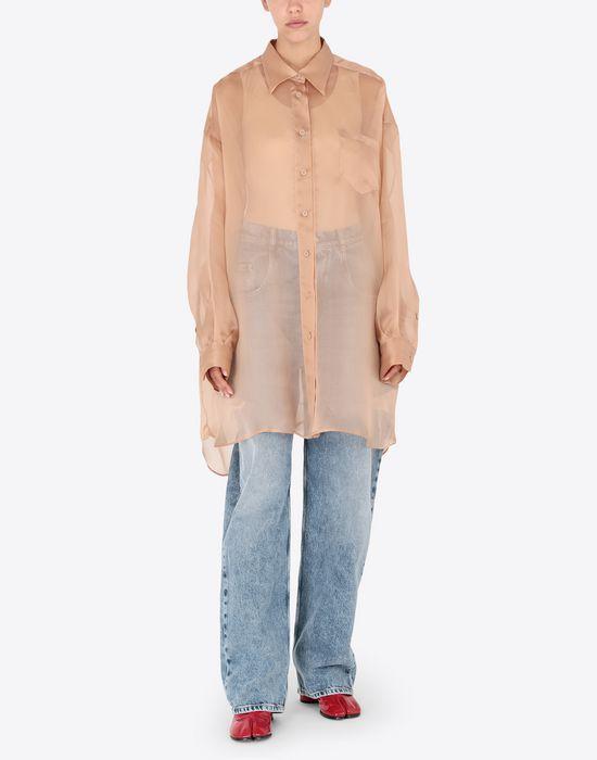MAISON MARGIELA Organza shirt Long sleeve shirt [*** pickupInStoreShipping_info ***] r