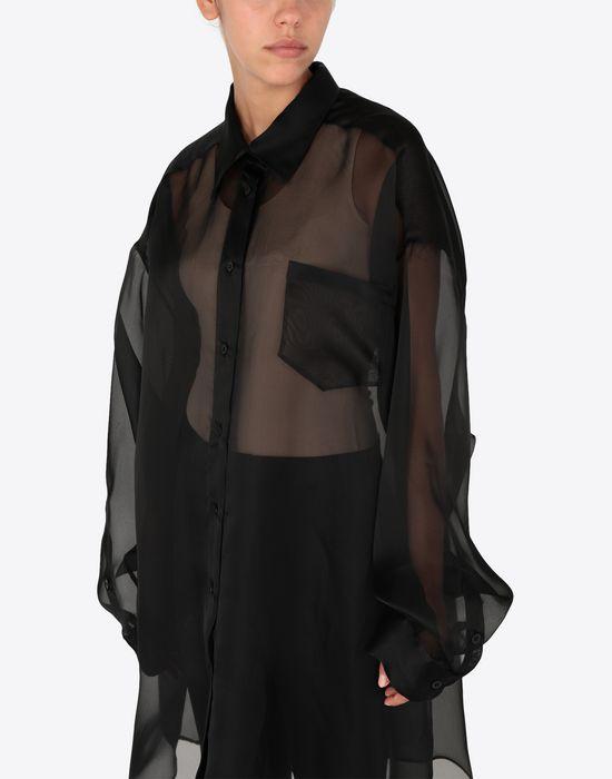 MAISON MARGIELA Organza shirt  Long sleeve shirt [*** pickupInStoreShipping_info ***] a