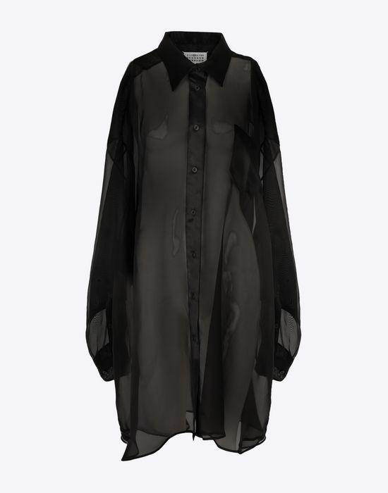 MAISON MARGIELA Organza shirt  Long sleeve shirt [*** pickupInStoreShipping_info ***] f