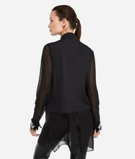 KARL LAGERFELD Long Cotton and Silk Shirt 9_f