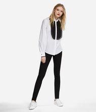 KARL LAGERFELD Cotton and Silk Organza Shirt 9_f