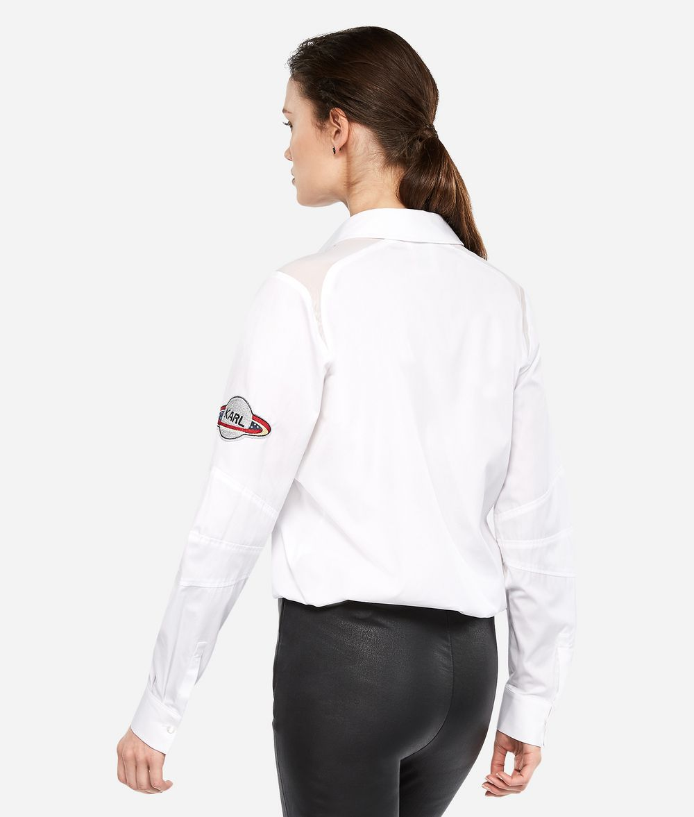 KARL LAGERFELD Karl Space Shirt Blouse Woman d