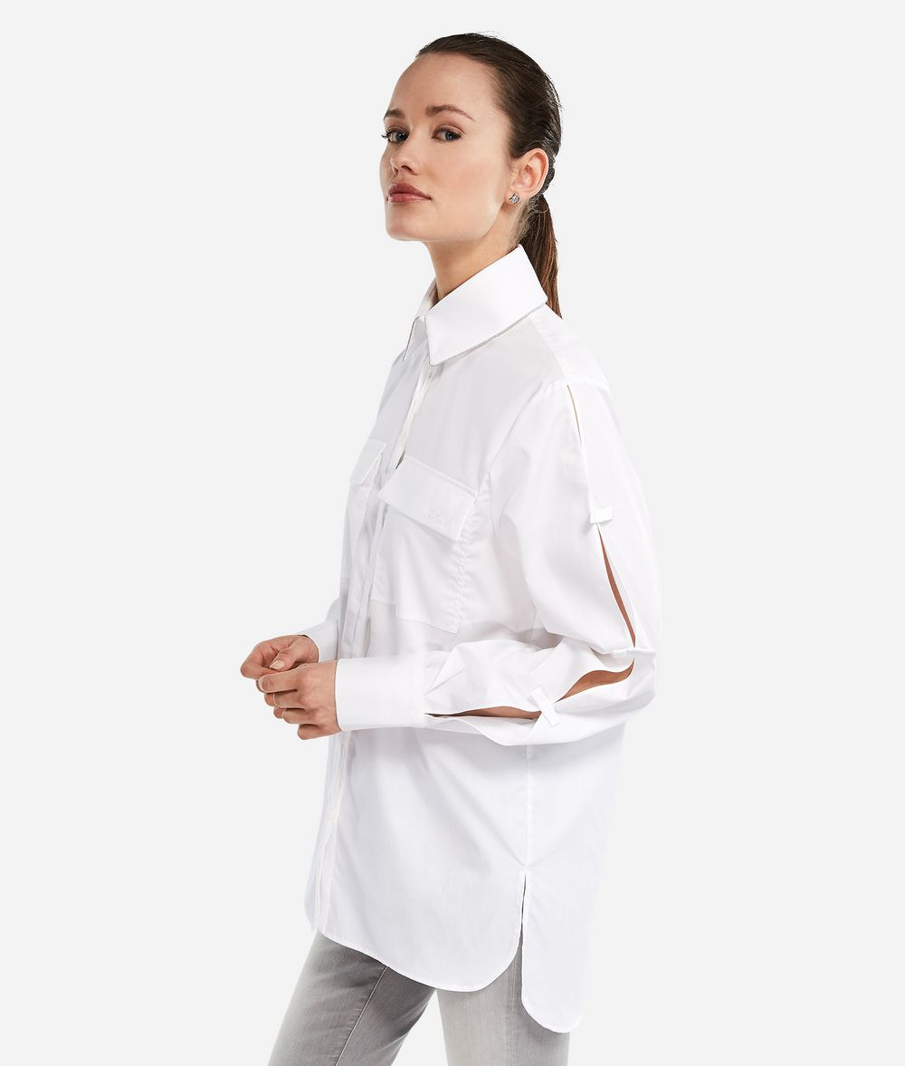 KARL LAGERFELD Karl Shirt with Bows Blouse Woman d