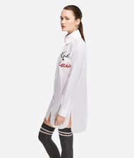 KARL LAGERFELD Karl X Kaia Logo Poplin Shirt 9_f