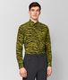 BOTTEGA VENETA DARK CHAMOMILE/NERO COTTON SHIRT Shirt Man fp