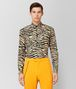 BOTTEGA VENETA CAMEL/NERO COTTON SHIRT Shirt Man fp