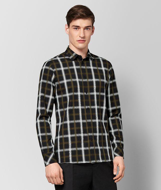 BOTTEGA VENETA MULTICOLOR COTTON SHIRT Shirt Man fp