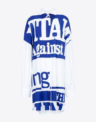 MAISON MARGIELA Long sleeve shirt Woman Vitamin print shirt f