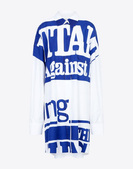 MAISON MARGIELA Vitamin print shirt Long sleeve shirt [*** pickupInStoreShipping_info ***] f