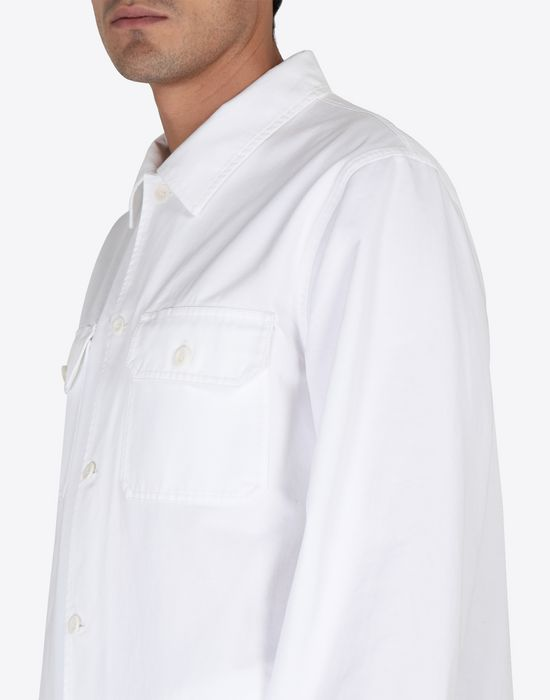 MAISON MARGIELA Cotton gabardine shirt Long sleeve shirt [*** pickupInStoreShippingNotGuaranteed_info ***] a