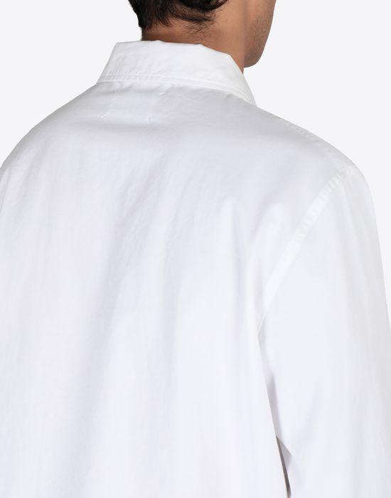 MAISON MARGIELA Cotton gabardine shirt Long sleeve shirt [*** pickupInStoreShippingNotGuaranteed_info ***] b