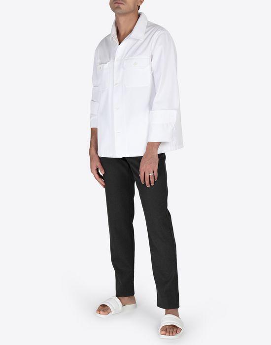 MAISON MARGIELA Cotton gabardine shirt Long sleeve shirt [*** pickupInStoreShippingNotGuaranteed_info ***] d