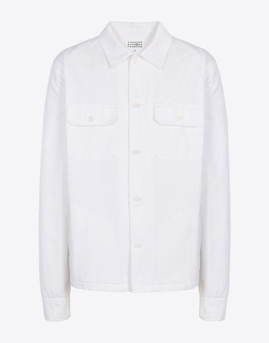 MAISON MARGIELA Cotton gabardine shirt Long sleeve shirt [*** pickupInStoreShippingNotGuaranteed_info ***] f