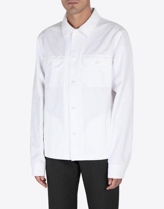 MAISON MARGIELA Cotton gabardine shirt Long sleeve shirt [*** pickupInStoreShippingNotGuaranteed_info ***] r