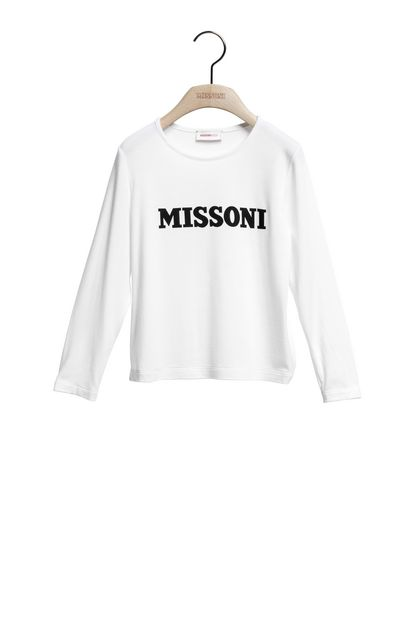 MISSONI KIDS T-shirt White Woman - Back