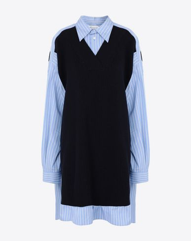 MAISON MARGIELA Long sleeve shirt [*** pickupInStoreShipping_info ***] Oversized bicolour shirt f