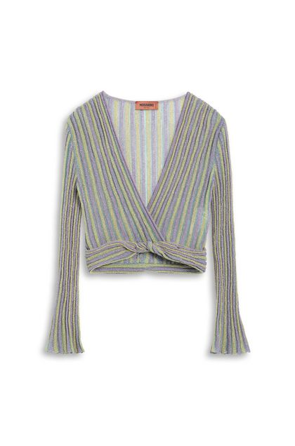 MISSONI Blouse Lilac Woman - Front
