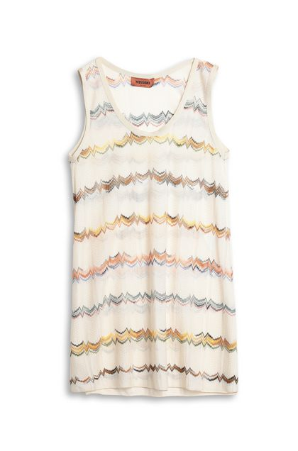 MISSONI Top Beige Woman - Front