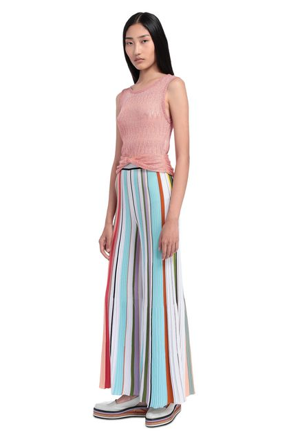MISSONI Top Salmon pink Woman - Front