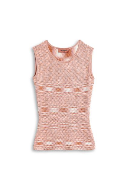 MISSONI Vest Orange Woman - Front
