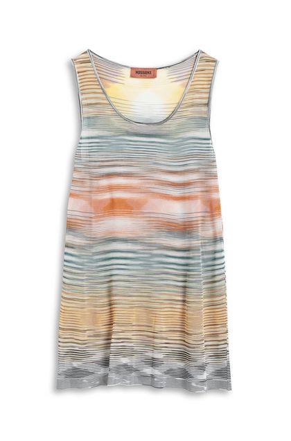 MISSONI Vest Orange Woman - Back