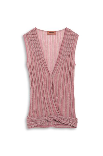 MISSONI Top Pink Woman - Front