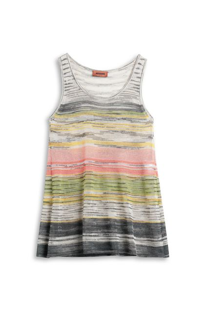 MISSONI Vest Ivory Woman - Back