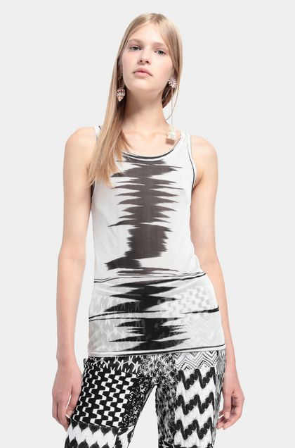 MISSONI Vest White Woman - Front