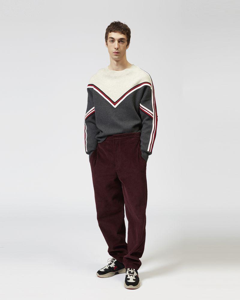 EIMO 투 컬러 스웨터 ISABEL MARANT