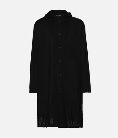 Y-3 Hooded Long Shirt