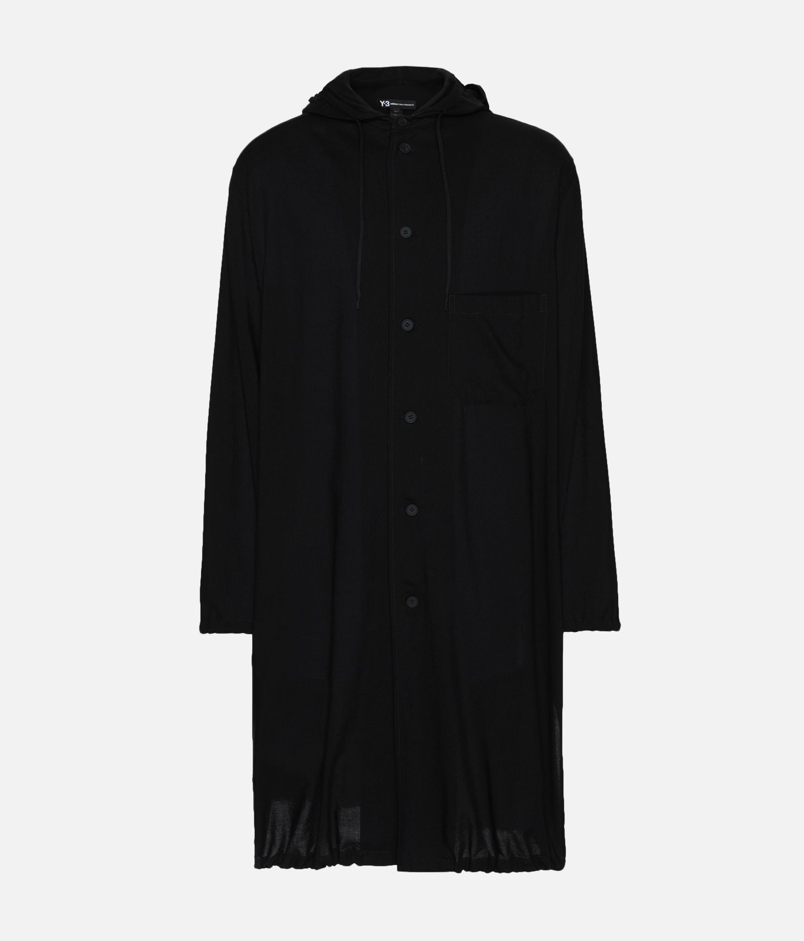 Y-3 Y-3 Hooded Long Shirt Long sleeve shirt Man f