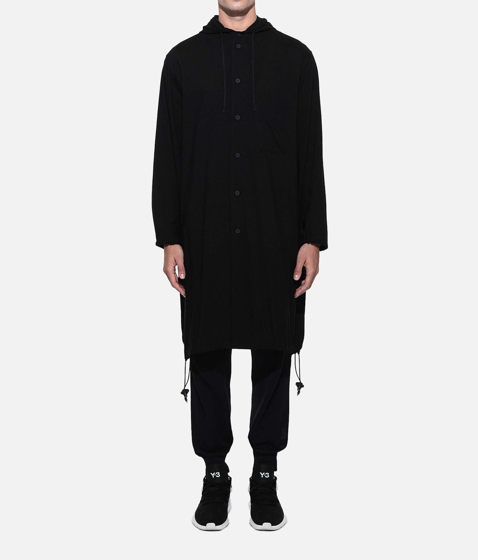 Y-3 Y-3 Hooded Long Shirt Long sleeve shirt Man r