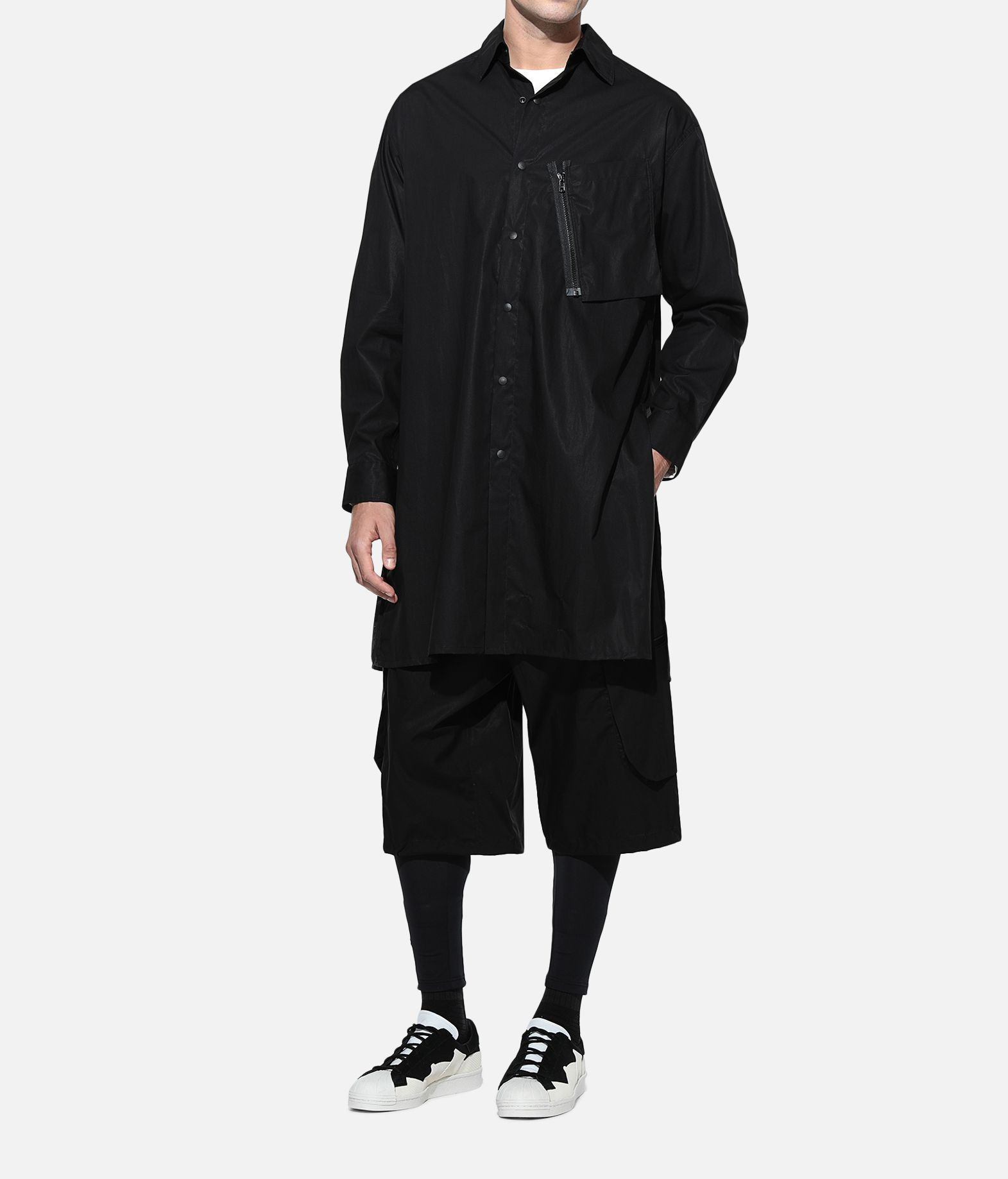 Y-3 Y-3 Tech Long Shirt Long sleeve shirt Man a