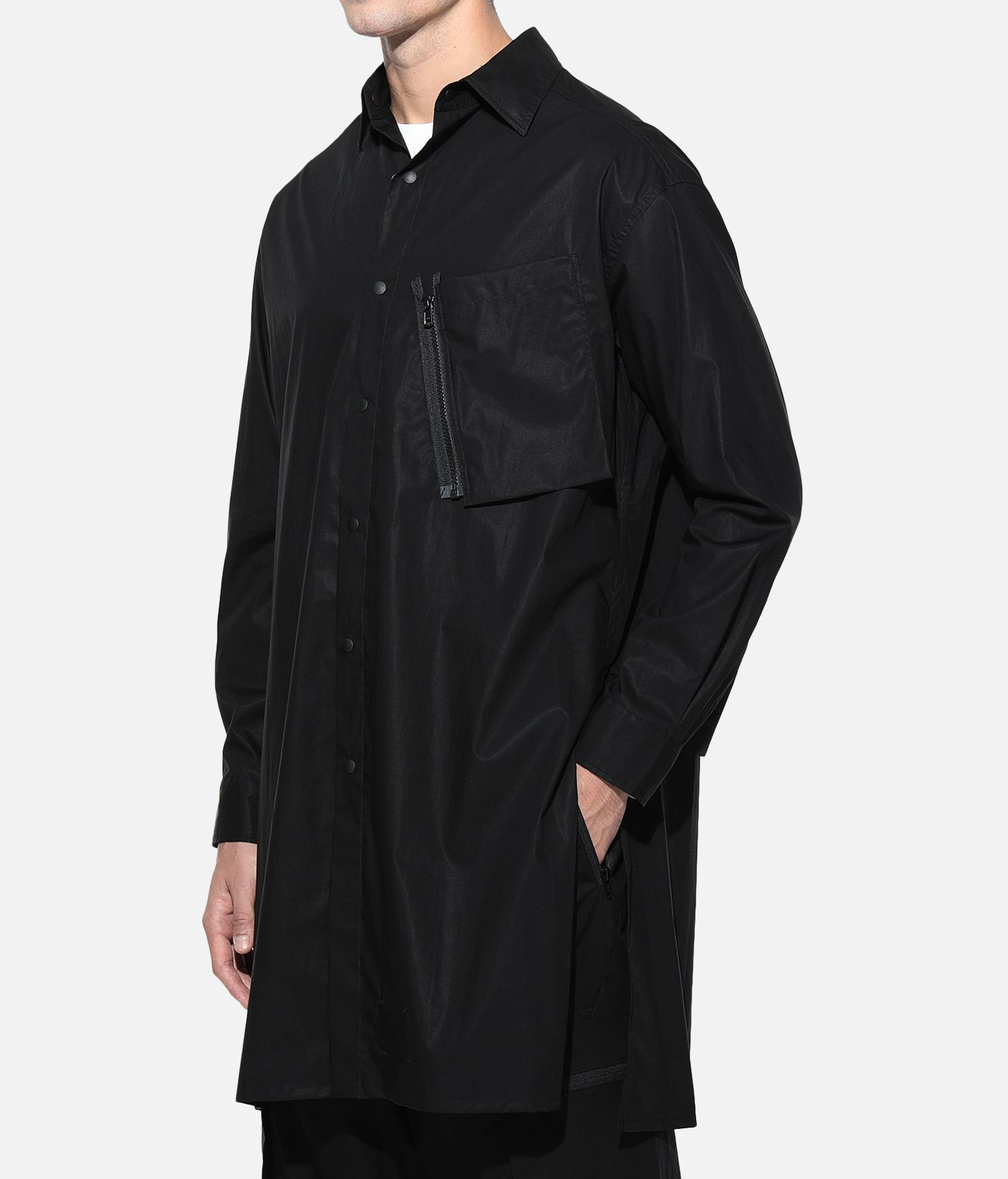 Y-3 Y-3 Tech Long Shirt Long sleeve shirt Man e
