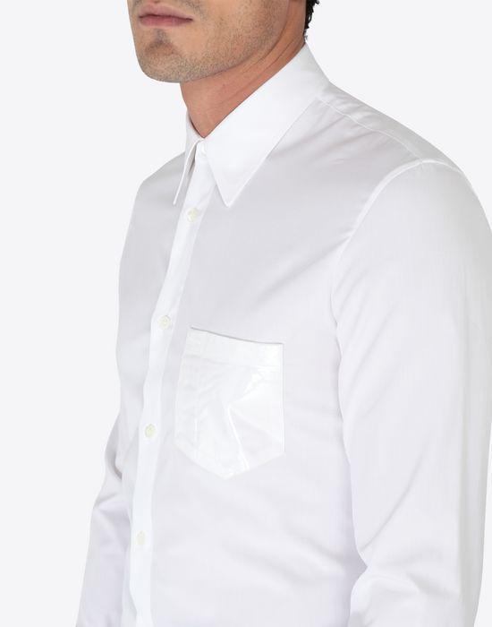 MAISON MARGIELA Shine pocket poplin shirt Long sleeve shirt [*** pickupInStoreShippingNotGuaranteed_info ***] a