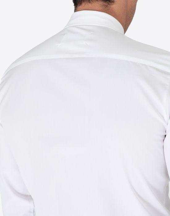 MAISON MARGIELA Shine pocket poplin shirt Long sleeve shirt [*** pickupInStoreShippingNotGuaranteed_info ***] b