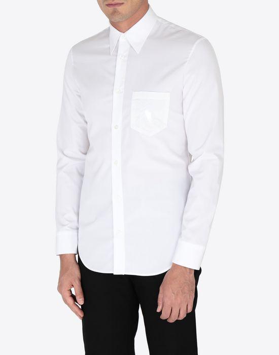 MAISON MARGIELA Shine pocket poplin shirt Long sleeve shirt [*** pickupInStoreShippingNotGuaranteed_info ***] r