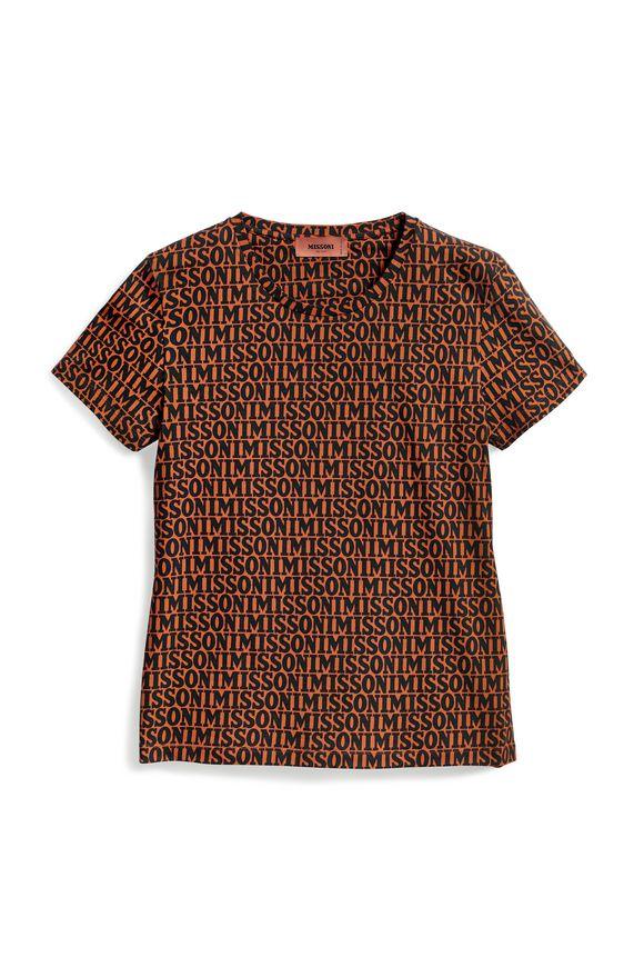 MISSONI T-shirt Orange Woman