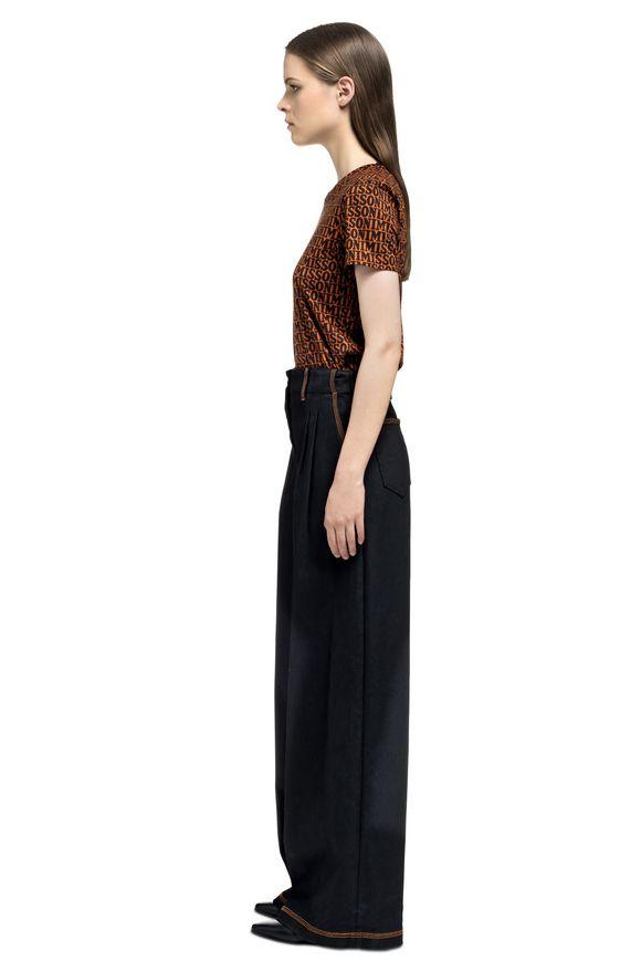 MISSONI T-shirt Femme, Vue de profil