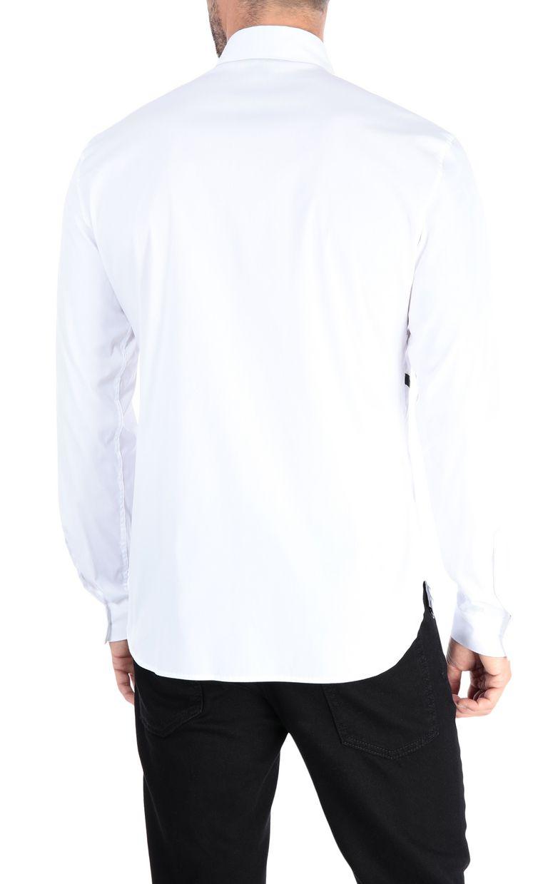 JUST CAVALLI Camouflage shirt Long sleeve shirt Man d