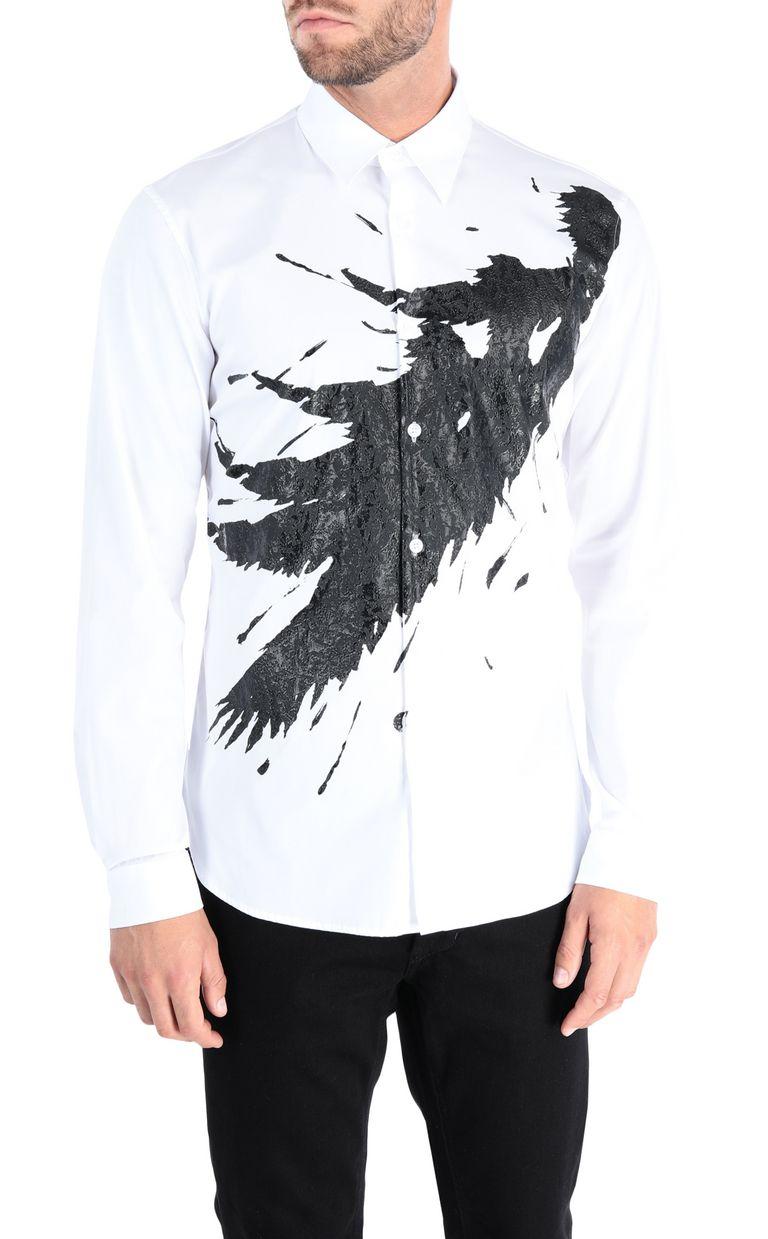 JUST CAVALLI Camouflage shirt Long sleeve shirt Man f