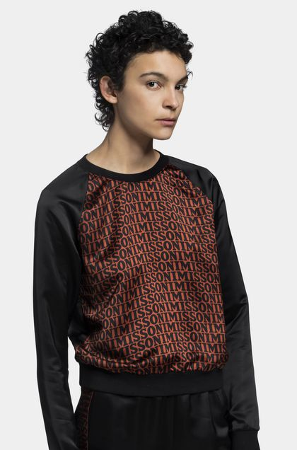 MISSONI Pullover Black Woman - Back