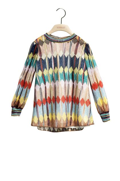 MISSONI KIDS Tunic Sand Woman - Back