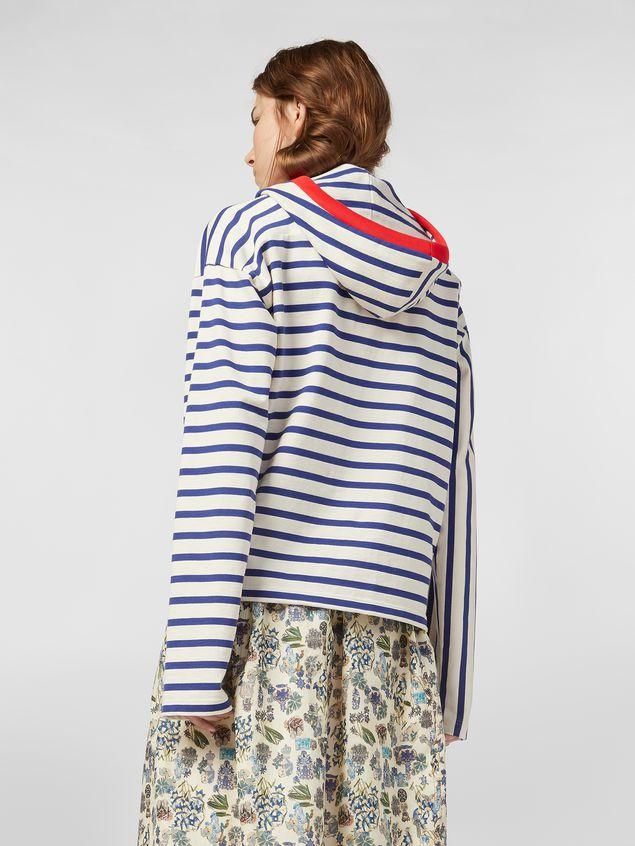 Marni Compact striped jersey sweater Woman