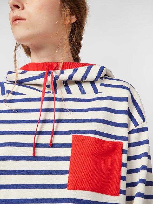 Marni Compact striped jersey sweater Woman - 4