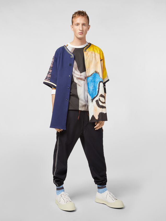 Marni Sweatshirt in compact cotton jersey with print by Florian Hetz Man - 5