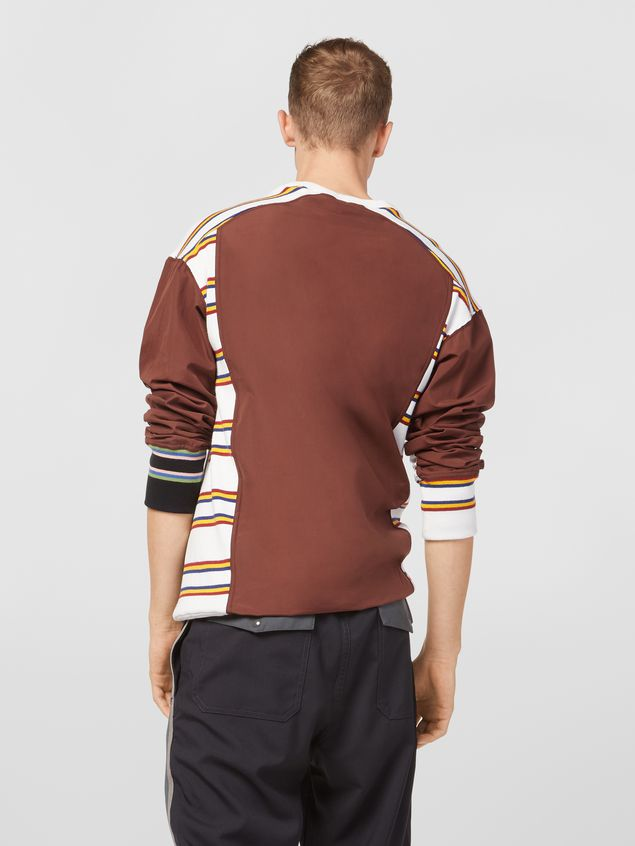 Marni Sweatshirt in compact cotton jersey with print by Florian Hetz Man - 3